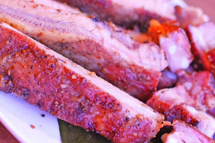 Rippchen in BBQ Sauce