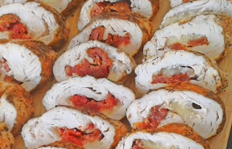 Hähnchenbrust mit getrockneten Tomaten