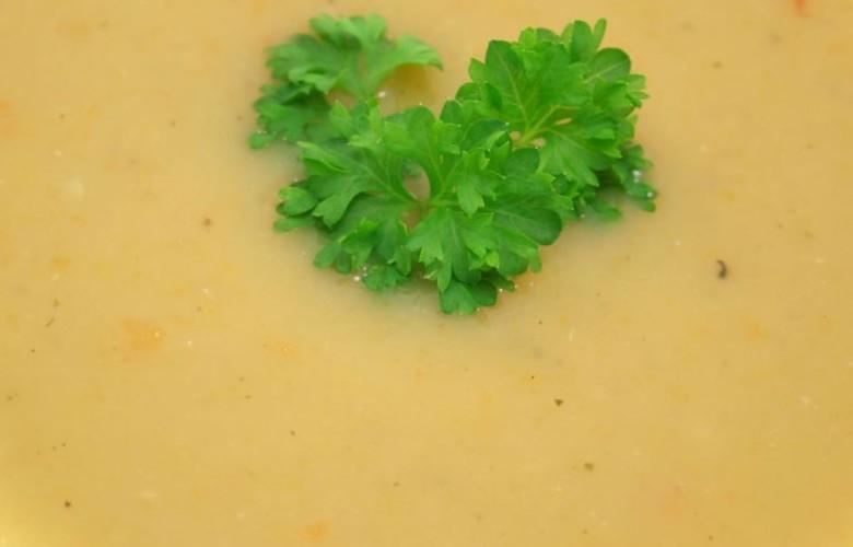 Cremige Champignon-Suppe