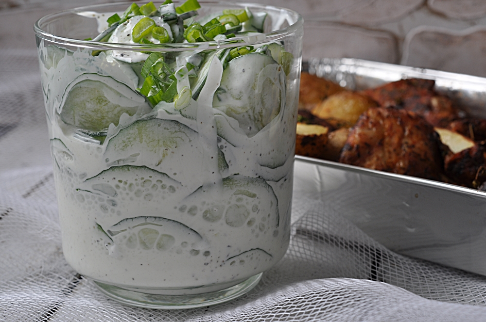 Rahmgurken-salat