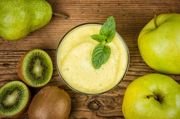 Kiwi-apfel-birnen-smoothie