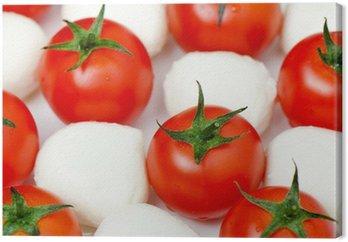 Salat mit Mozzarella